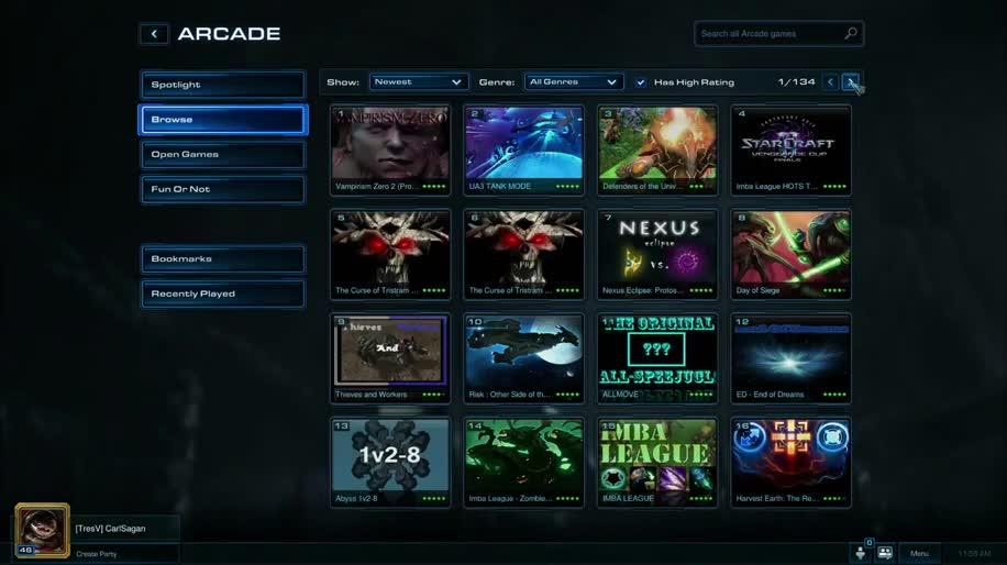 Blizzard, Strategiespiel, Starcraft, Starcraft 2, Blizzard Arcade