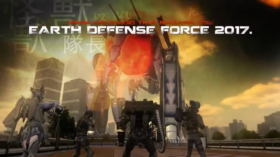 Trailer, Earth Defence Force 2025, D3 Publisher