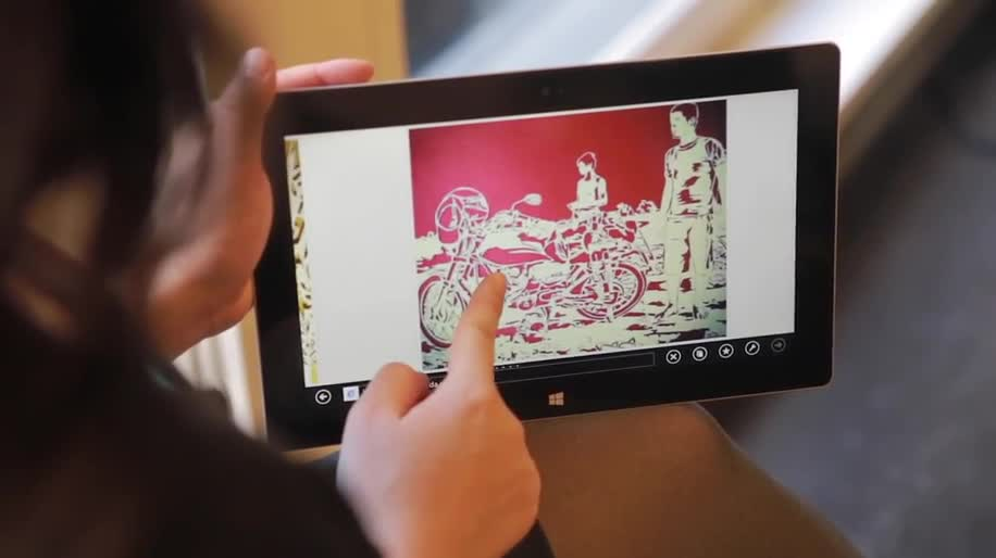 Microsoft, Tablet, Surface, Microsoft Surface, Windows RT, Surface Tablet, Surface RT, Surface 2, Microsoft Surface 2, Kunst, Lauren Iida