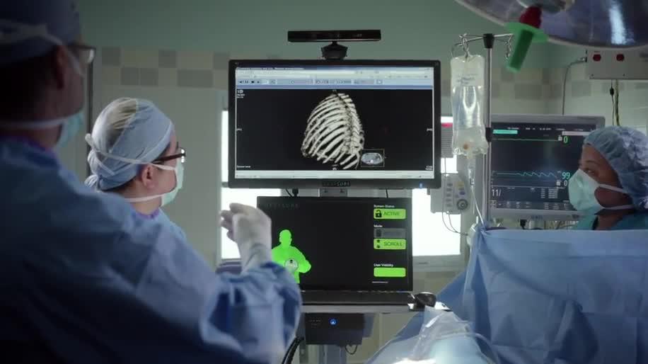 Microsoft, Xbox, Werbung, Werbespot, Kinect, Bewegungssteuerung, Technologie, Bewegungserkennung, Werbespots, Operation, Chirurg, Chirurgen, operieren