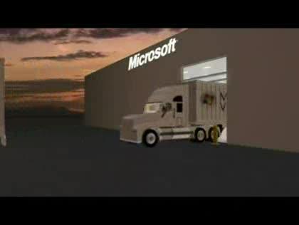 Microsoft, Rechenzentrum, Datenzentren, Container