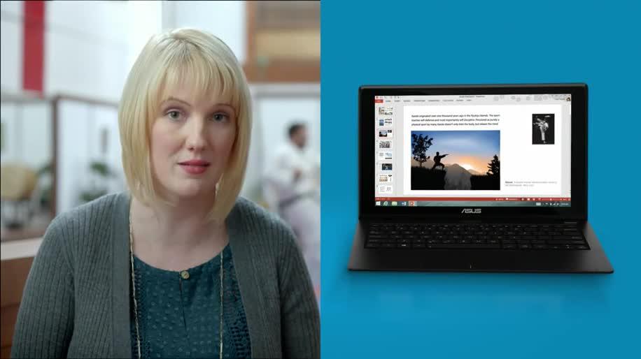 Microsoft, Google, Windows 8, Windows 8.1, Werbespot, Asus, Chromebook, Asus X200CA
