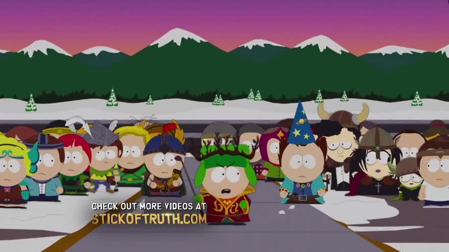 Werbespot, Ubisoft, Rollenspiel, South Park, Der Stab der Wahrheit