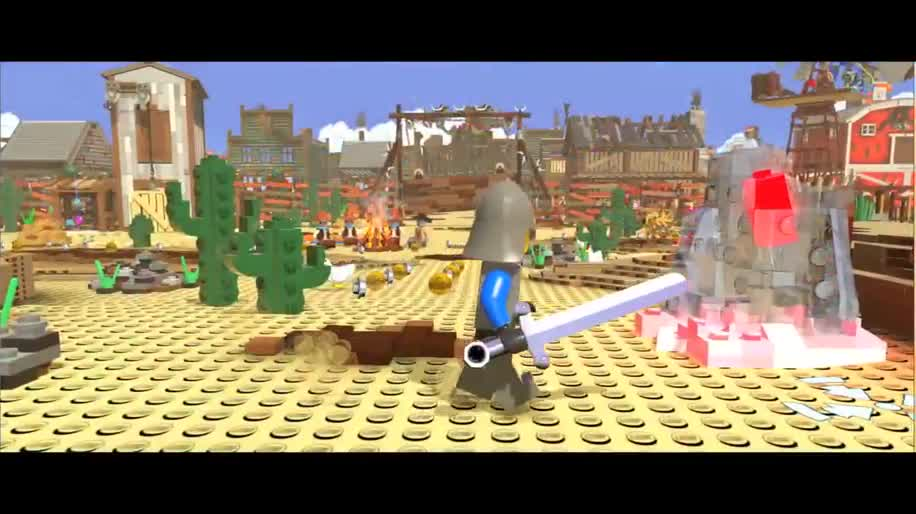 Trailer, Warner Bros., Jump & Run, The Lego Movie Videogame, The Lego Movie