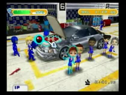 Nintendo, Wii, Pit Crew Panic