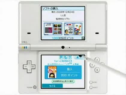 Nintendo, Shop, Ds, Dsi