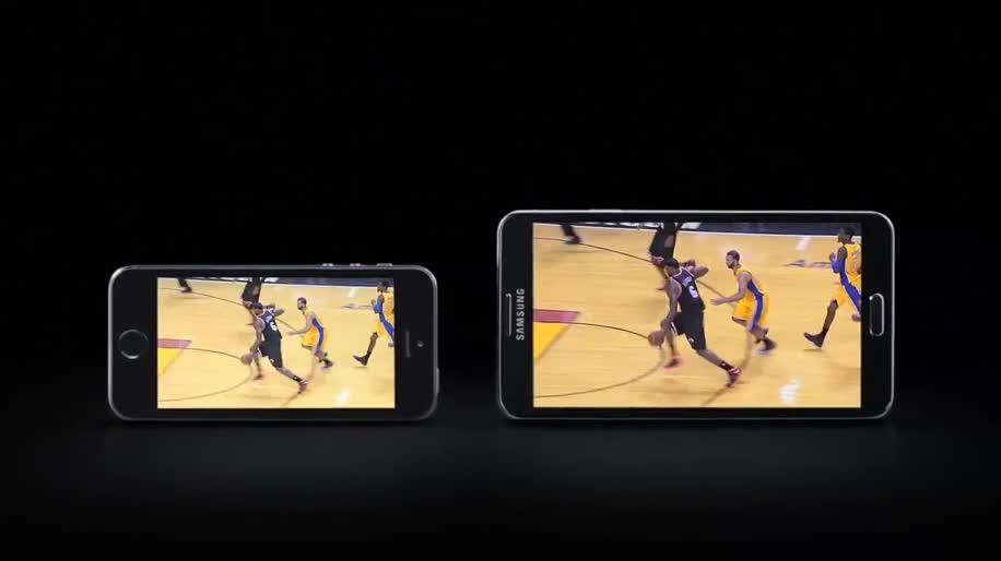 Smartphone, Android, Samsung, Werbespot, Samsung Galaxy, Galaxy, Galaxy Note, Samsung Mobile, iPhone 5S, Apple iPhone 5S