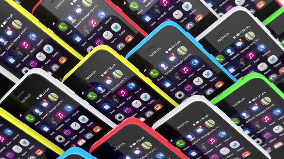 Nokia, Mwc, Touchscreen, MWC 2014, Asha, Nokia Asha, Nokia Asha 230, Asha 230