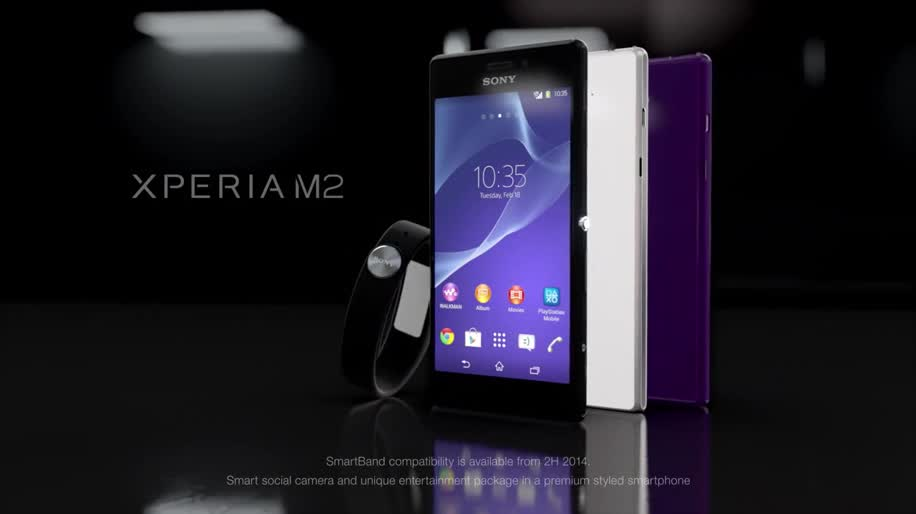 Smartphone, Android, Sony, Mwc, Xperia, Sony Xperia, MWC 2014, Xperia M2, Sony Xperia M2