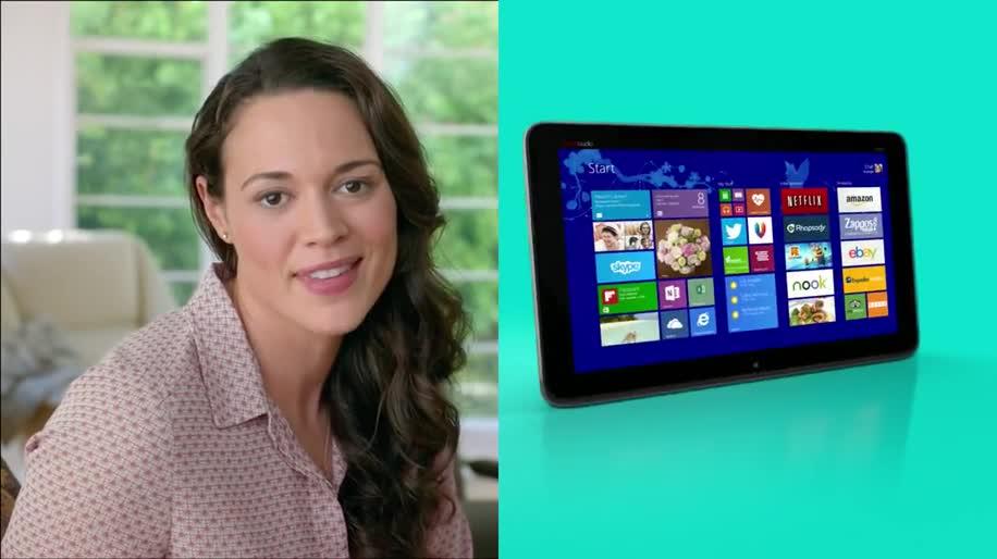 Microsoft, Apple, Werbespot, Hp, Touchscreen, Hewlett-Packard, Mac, Convertible, Hewlett Packard, All-In-One-PC