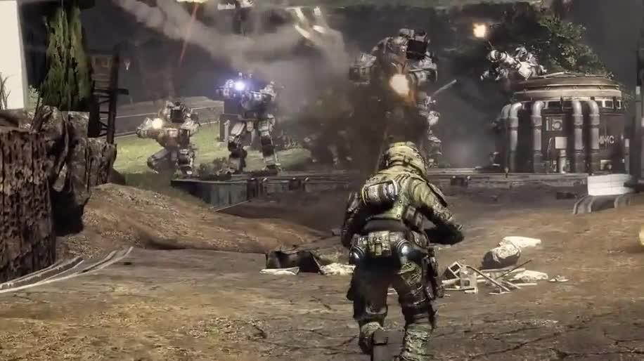 Trailer, Electronic Arts, Ego-Shooter, Ea, Online-Spiele, Online-Shooter, Titanfall