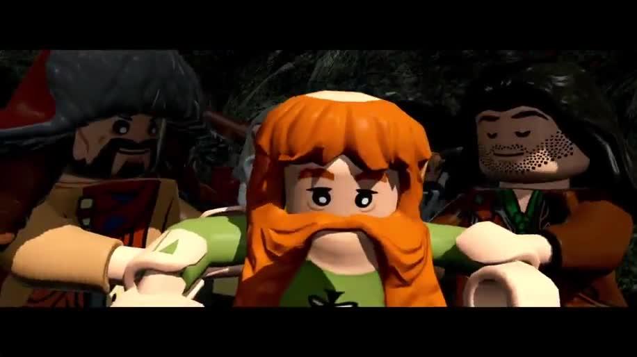 Trailer, Warner Bros., Lego, Der Hobbit, The Hobbit, Lego: Der Hobbit
