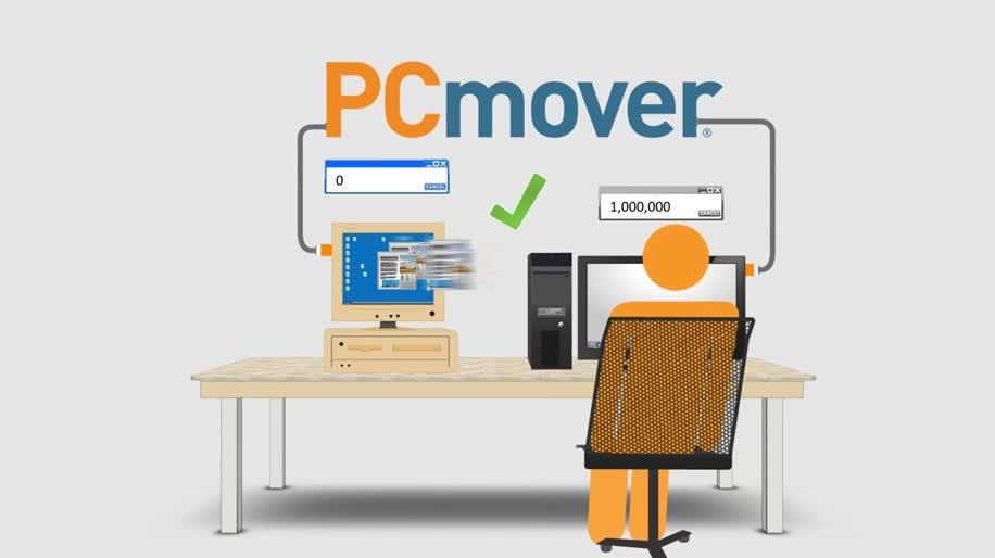Microsoft, Windows, Windows 8, Windows 7, Windows 8.1, Software, Windows Xp, Migration, PCmover Express, Laplink, PCmover
