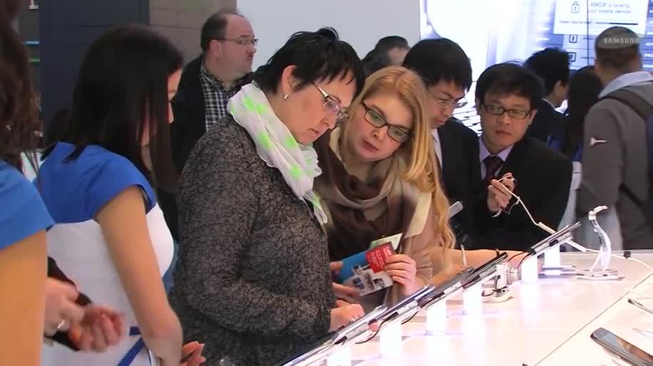 Samsung, Messe, Samsung Mobile, Cebit, Hannover, CeBIT 2014, Messe Hannover