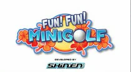 Nintendo, Wii, Fun, Minigolf
