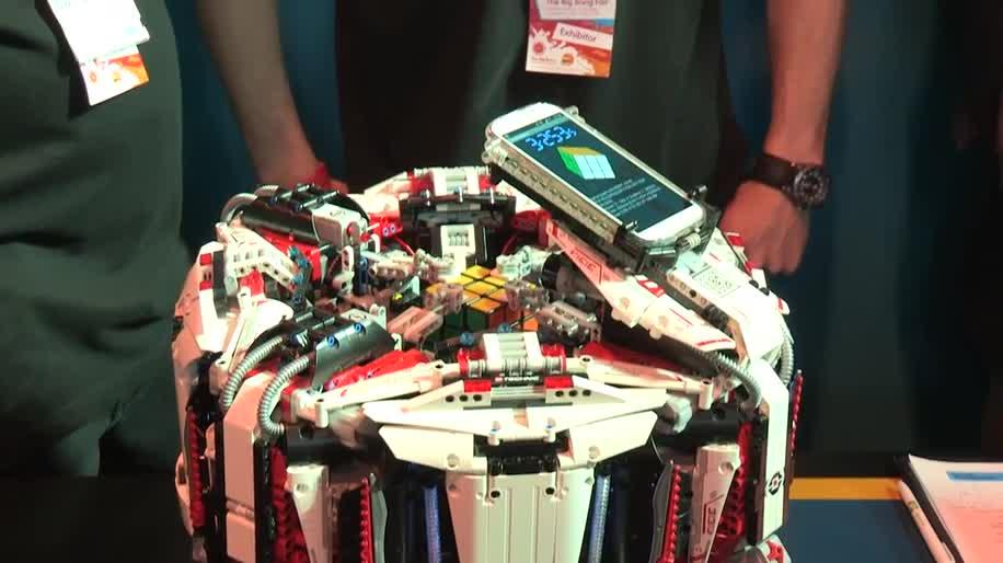 Arm, Roboter, Weltrekord, Zauberwürfel, Rubik's Cube, Cubestormer 3, Cubestormer, Big Bang Fair