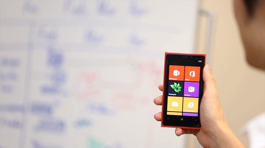 Microsoft, App, Cloud, Cloudsynchronisation, OneNote, Notizen, Notizbuch, Texterkennung, Office Lens