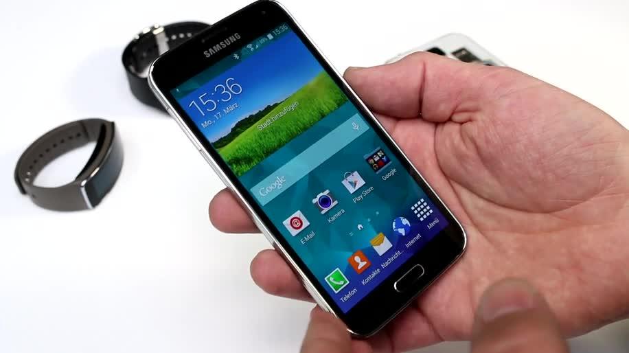 Smartphone, Android, Samsung, Galaxy, Hands-On, Samsung Galaxy S5, Galaxy S5