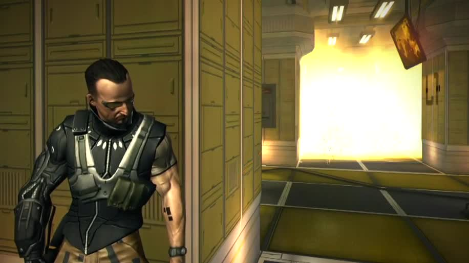 Trailer, actionspiel, Square Enix, Deus Ex, Deus Ex: The Fall, The Fall