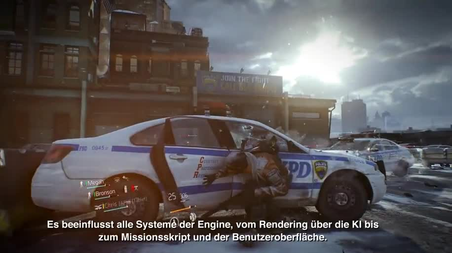 Ubisoft, GDC, Game Developers Conference, Grafik-Engine, Tom Clancy's The Division, The Division, GDC 2014, Snowdrop Engine, Massive Entertainment