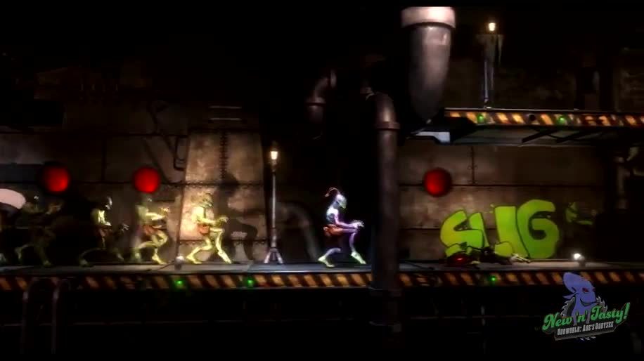 Trailer, Sony, Jump & Run, Oddworld, New 'n' Tasty, Just Add Water, Oddworld Inhabitants