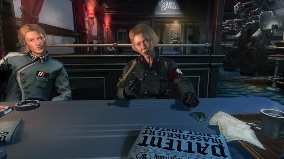 Ego-Shooter, Gameplay, Bethesda, Wolfenstein, Wolfenstein: The New Order