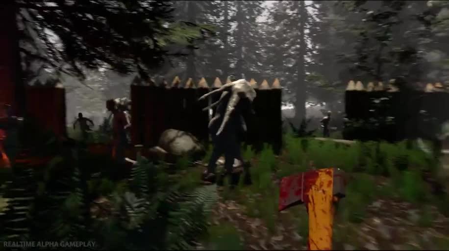 Trailer, Gameplay, Oculus Rift, Survival Horror, The Forest, SKS Games
