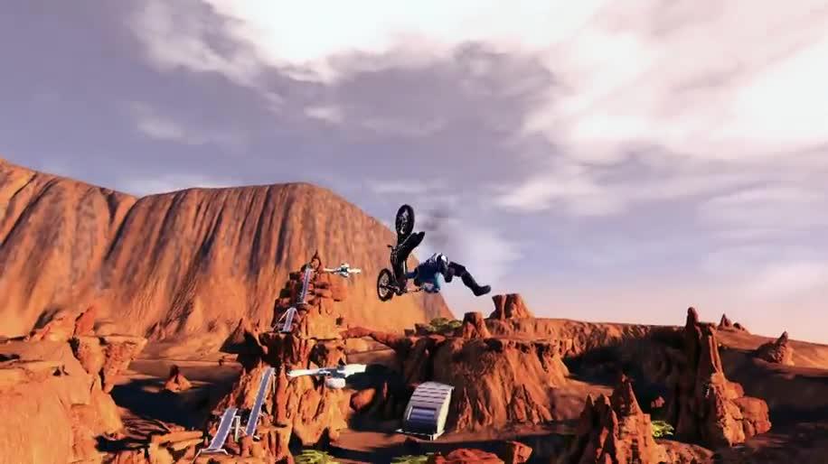 Trailer, Ubisoft, Rennspiel, Trials, Trials Fusion