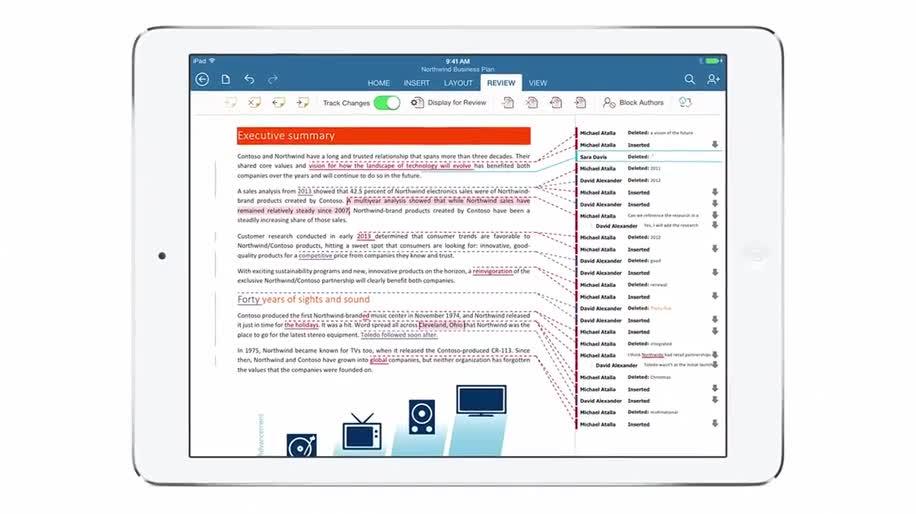 Microsoft, Apple, Tablet, Ipad, Werbespot, Apple Ipad, Word, Excel, Powerpoint, Office for iPad, Office für iPad