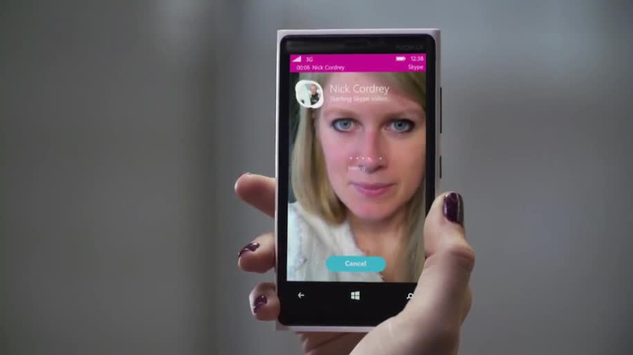 Microsoft, Windows Phone, Skype, Windows Phone 8.1, Build, Telefonie, WP8, Telefonieren, Build 2014, Skype Videotelefonie