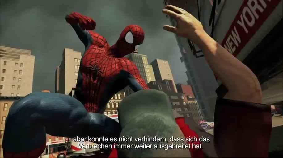 Trailer, actionspiel, Activision, Marvel, Spider-Man, The Amazing Spider-Man, The Amazing Spider-man 2, Kingpin