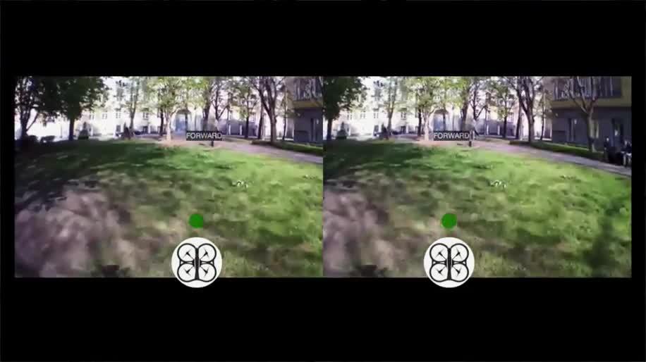 Oculus Rift, Open Source, Drohnen, Github, Videobrille, AR Drone 2.0, AR Drone, Diego Araos, Headtracking