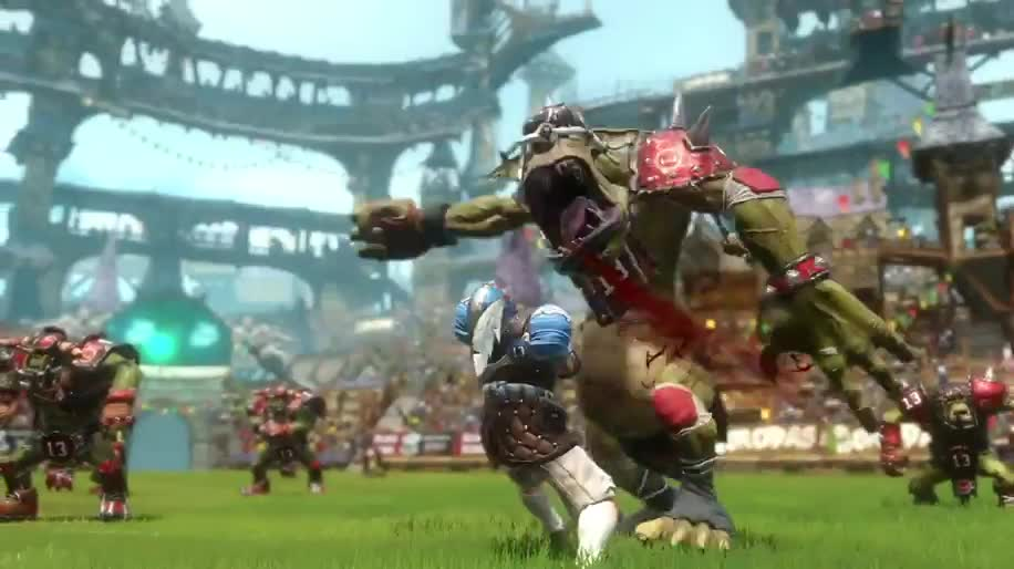 Trailer, Gameplay, Focus Interactive, Sportspiel, Blood Bowl 2, Blood Bowl