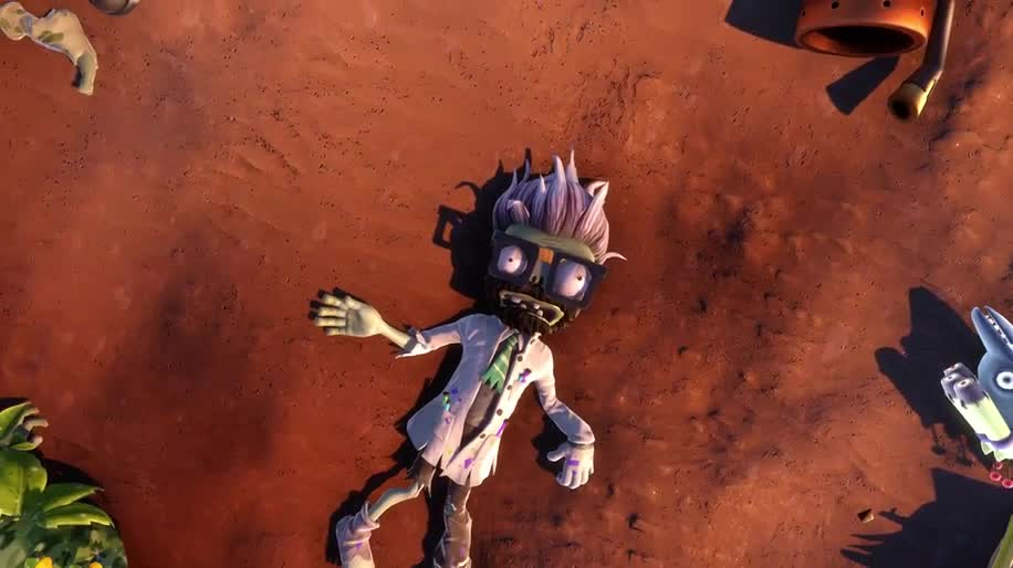 Trailer, Electronic Arts, Ea, Shooter, Dlc, PopCap, Plants vs Zombies, Garden Warfare, Zomboss Down