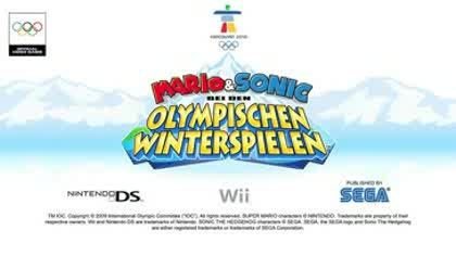 Nintendo, Wii, SEGA, Mario, Sonic, Olympische Winterspiele