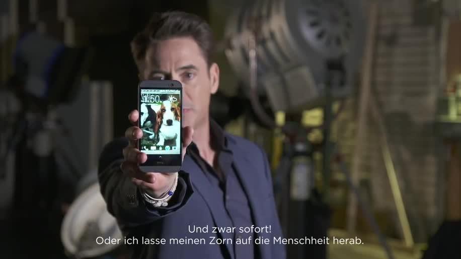 Smartphone, Android, Htc, Werbespot, HTC One, HTC One M8, Robert Downey Jr.