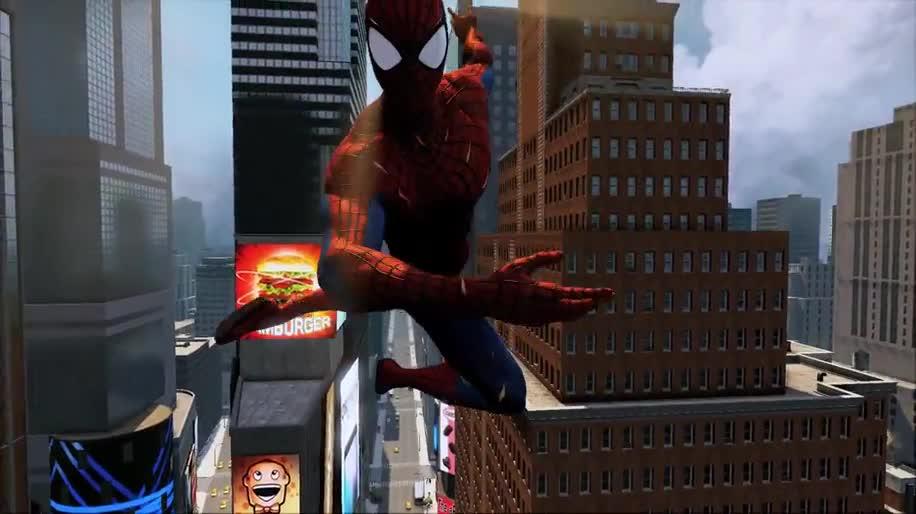 Trailer, actionspiel, Activision, Marvel, Spider-Man, The Amazing Spider-Man, The Amazing Spider-man 2