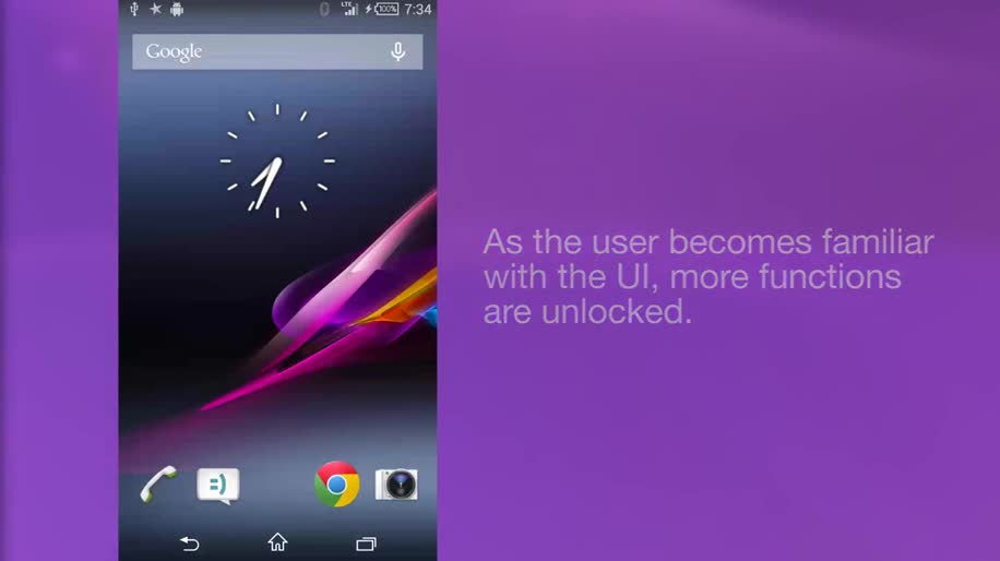 Android, Sony, Spiel, Interface, Ui, Oberfläche, User Interface, Sony Mobile, EvolutionUI, Gamification
