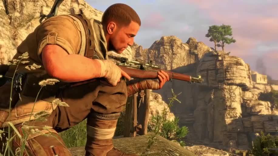 Trailer, Ego-Shooter, 505 Games, Rebellion, Sniper Elite 3, Sniper Elite