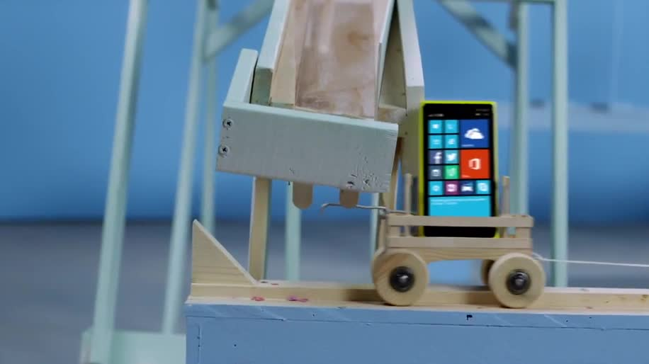 Microsoft, Smartphone, Nokia, Werbespot, Handys, Rube-Goldberg-Maschine