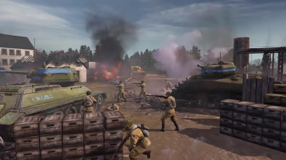 Trailer, Dlc, Strategiespiel, SEGA, Erweiterung, Company of Heroes 2, Company of Heroes, Relic Entertainment, Western Front Armies
