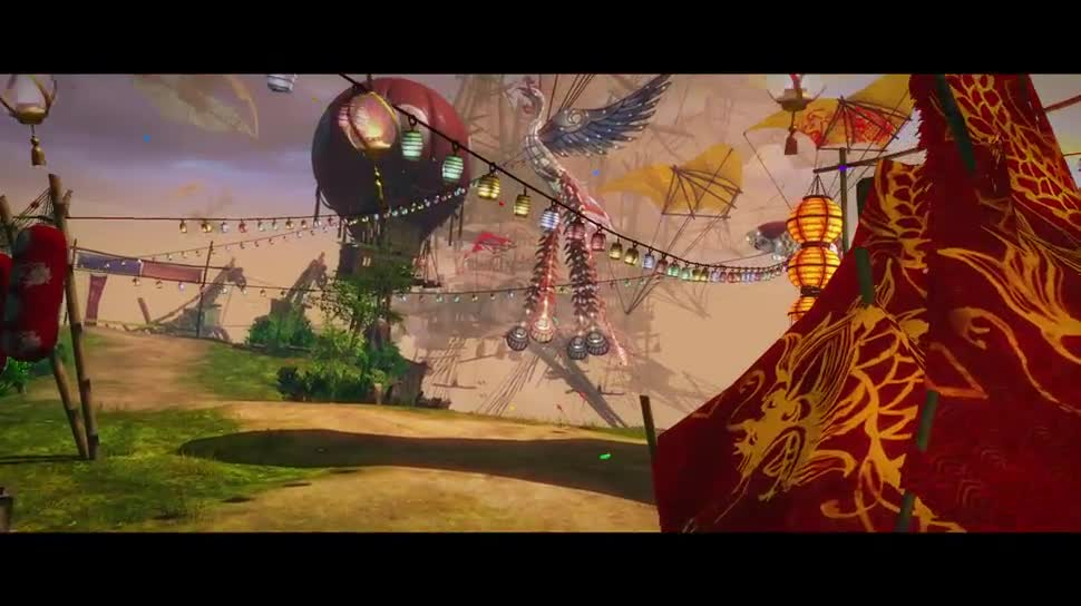 Trailer, Online-Spiele, Mmo, Mmorpg, Online-Rollenspiel, Guild Wars 2, Ncsoft, ArenaNet, Guild Wars, Das Fest der vier Winde
