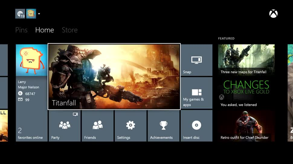 Microsoft, Update, Xbox One, Kinect, Spielekonsole
