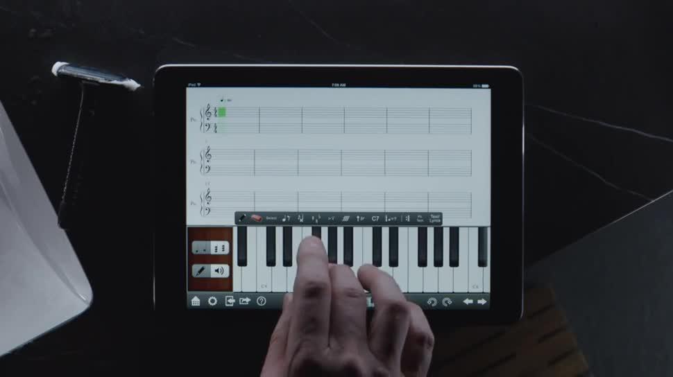 Apple, Tablet, Ipad, Werbespot, Apple Ipad, iPad air, Apple iPad air