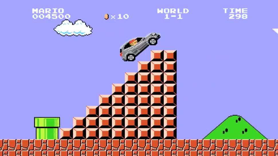 Werbespot, Japan, Super Mario, Mario, Mercedes Benz, Mercedes, Super Mario Bros.