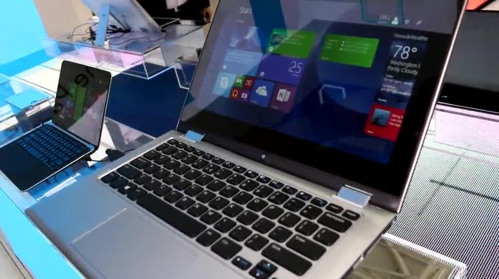 Windows 8, Windows 8.1, Hands-On, Dell, Computex, Convertible, Computex 2014, Inspiron, Dell Inspiron, Inspiron 11 3000