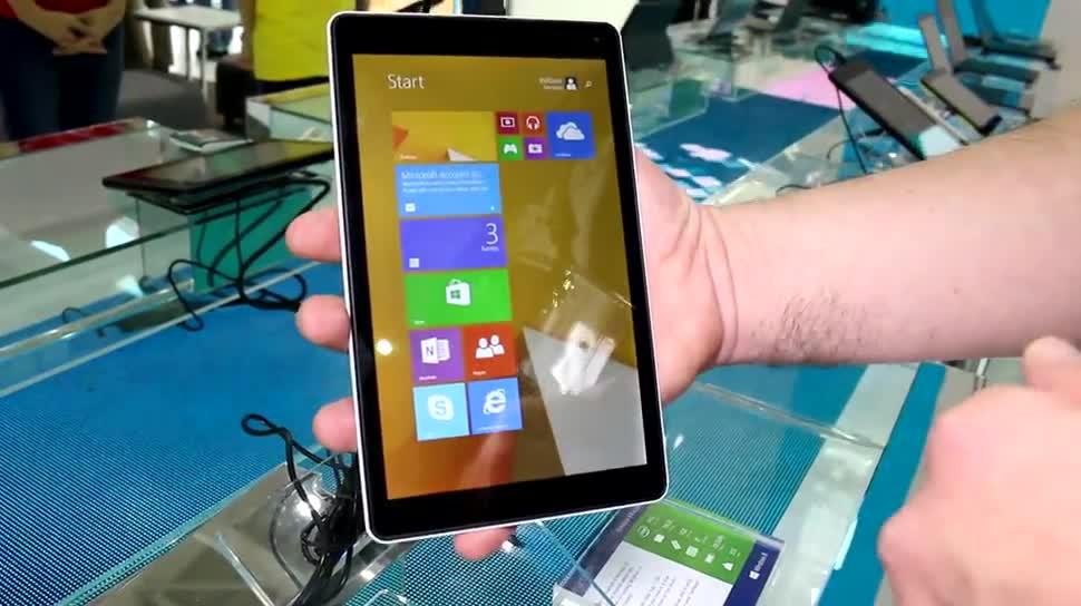 Tablet, Windows 8, Windows 8.1, Hands-On, Computex, Computex 2014, Emdoor, Emdoor EM-I8080, EM-I8080