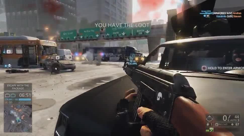 Electronic Arts, Ego-Shooter, Ea, E3, Gameplay, Battlefield, E3 2014, Battlefield: Hardline