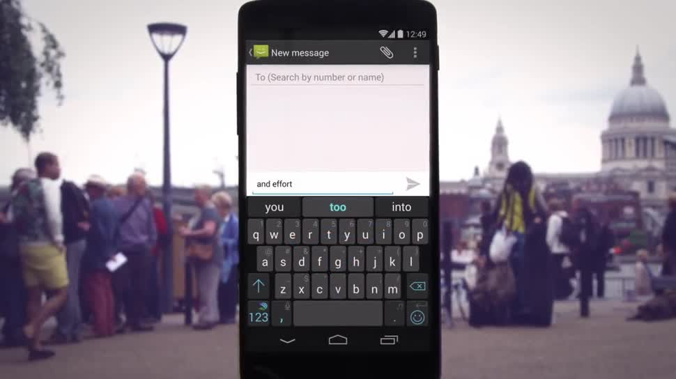 Android, Tastatur, SwiftKey, Bildschirmtastatur, virtuelle Tastatur