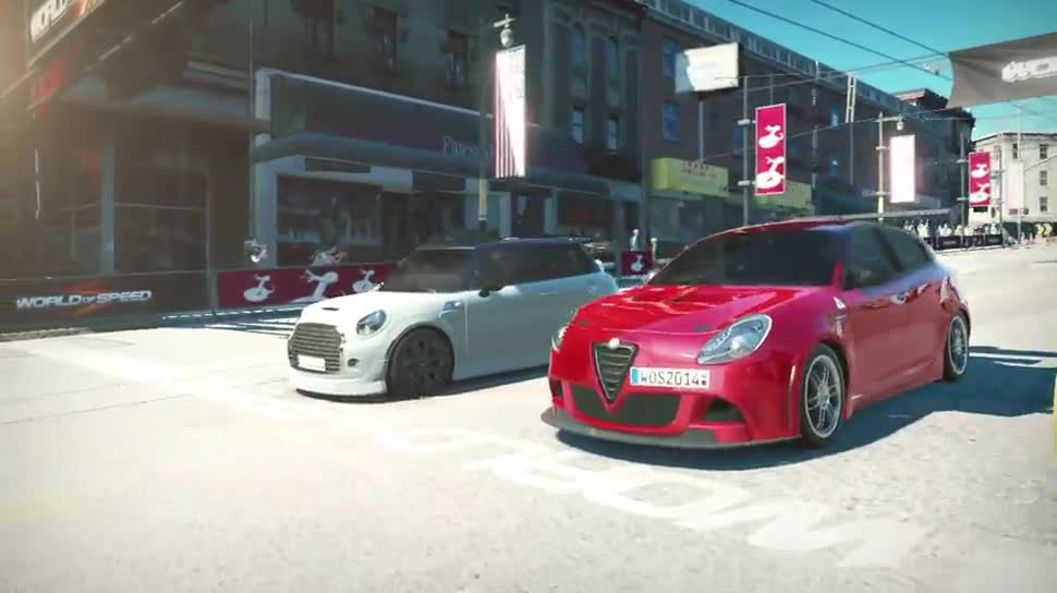 Trailer, E3, Online-Spiele, Rennspiel, Free-to-Play, E3 2014, Slightly Mad Studios, World of Speed, My.com